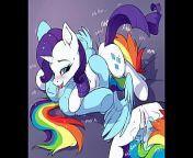 MLP Porn Rainbow Dash Pony ( My Little Pony Clop Ponies Hentai Sex Cartoon Compilation ) from hentai gorilka spike