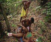 Village Outdoor Threesome - Hunter Caught me Fucking Popular Village Slut (Trailer) from abul kalam