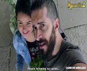 MAMACITAZ - Sexy BBW Teen Latina Xiomara Soto First Porn Attempt And She Loves It from bangla soto maya xxx sch