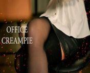 Papper Work. Secretary roleplay by MyKinkyDope [Creampie] from secretary