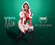 Busty MILF Natasha Nice Rough Holiday Fuck - MYLX x PORNHUB EXCLUSIVE from 200 porn